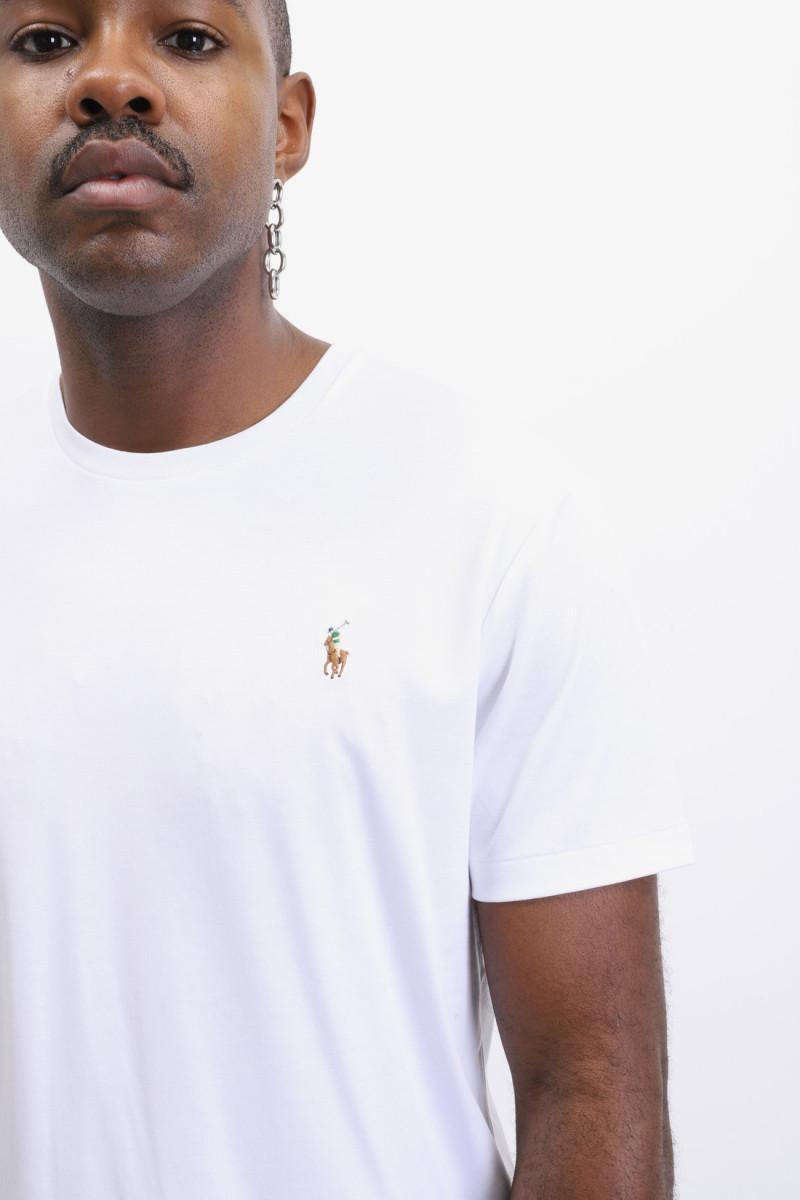 Custom slim fit tshirt White