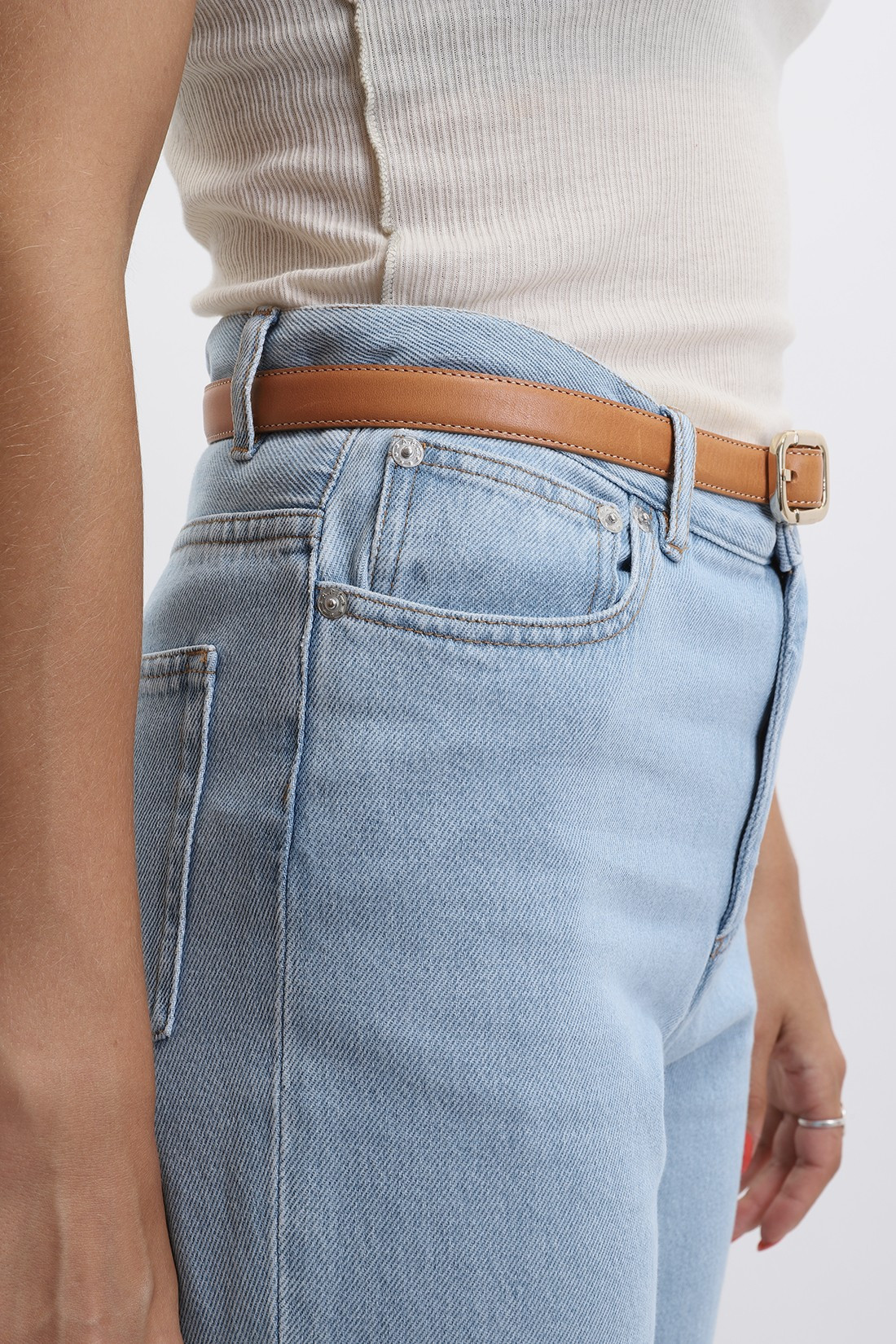 A.P.C. FOR WOMAN / Jean new sailor Bleu clair