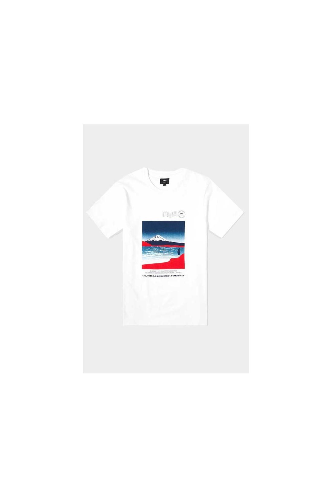 EDWIN / Awoke tshirt White