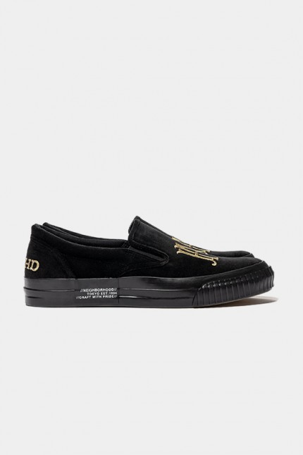 Slip on-e / c-sneaker Black