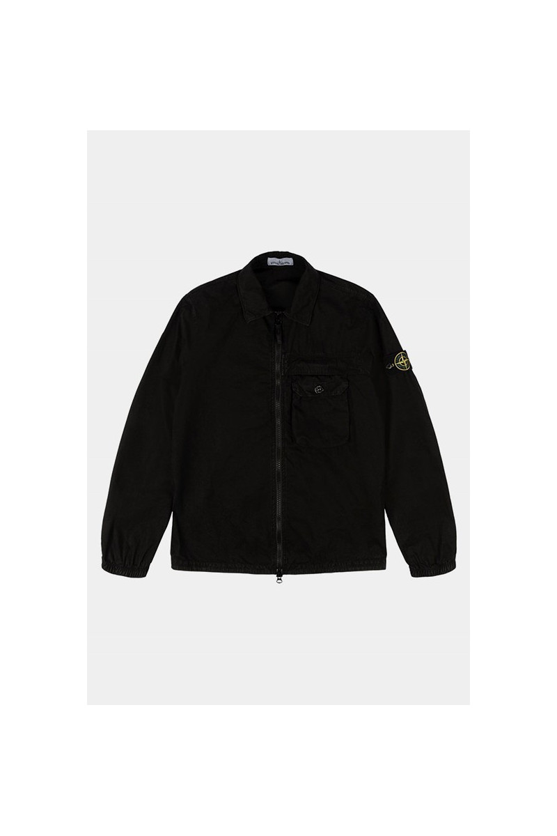 107wn overshirt v0129 Nero