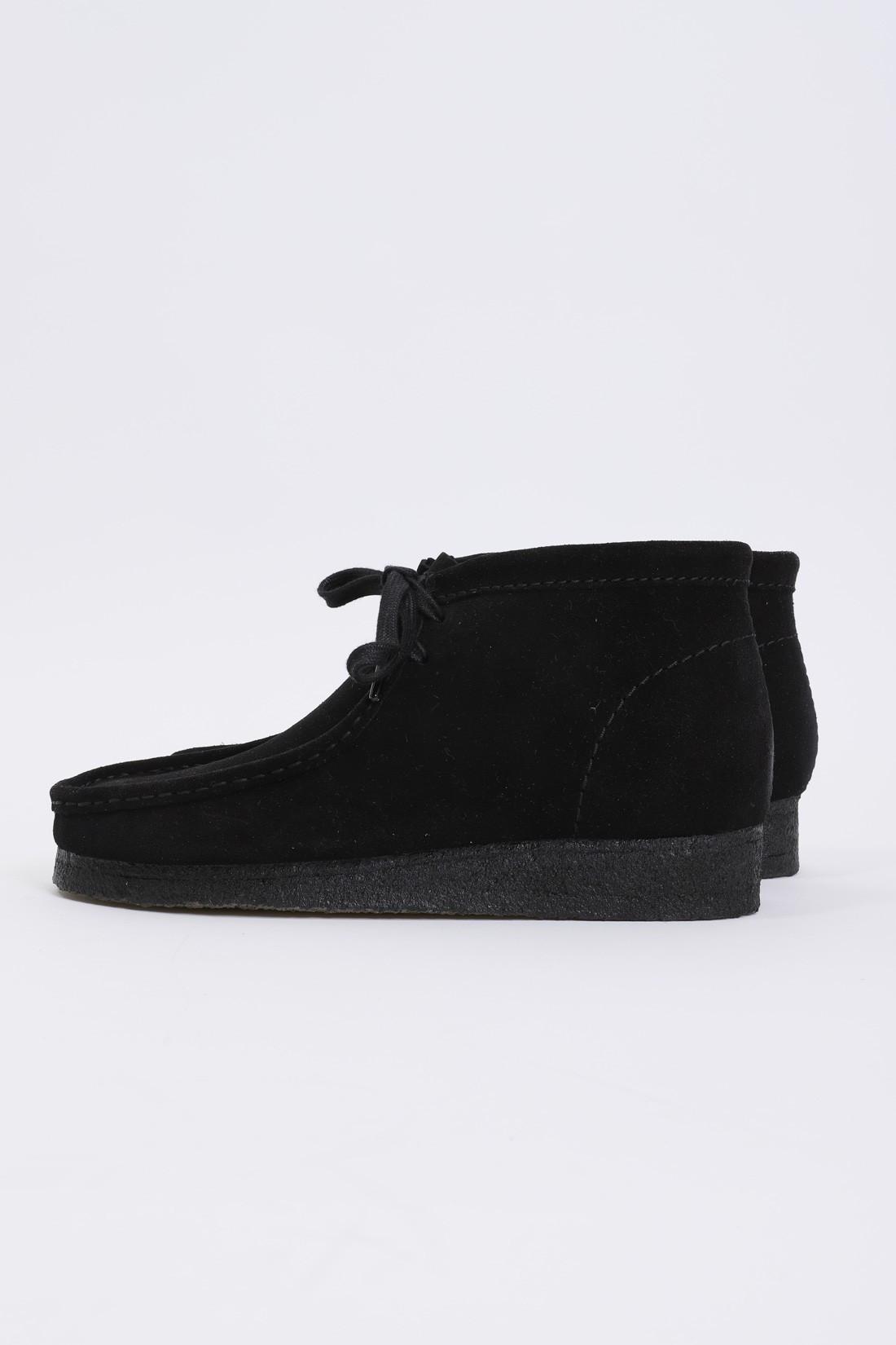 CLARKS ORIGINALS / Wallabee boot Black suede