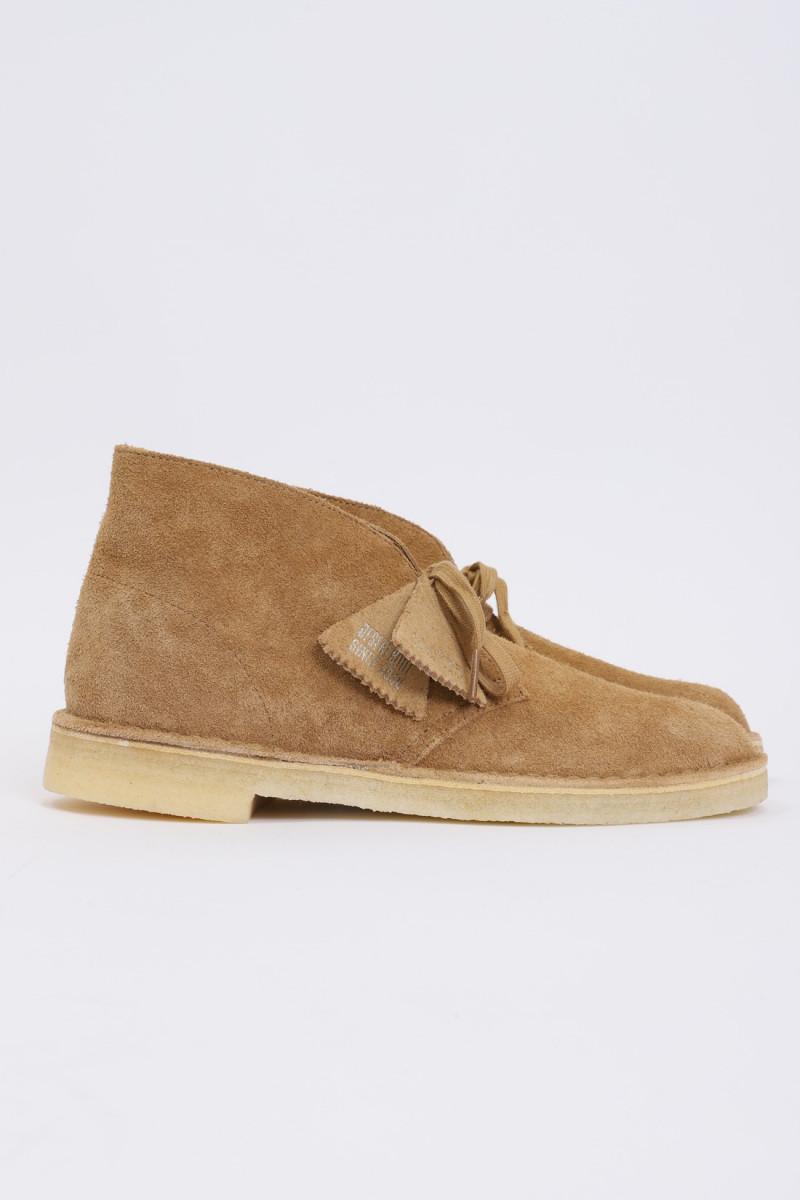 Desert boot Nutmeg suede