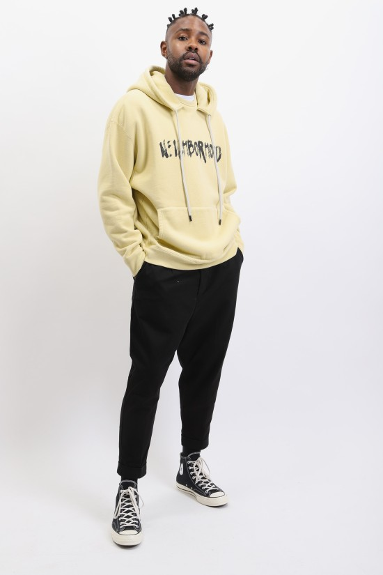 NEIGHBORHOOD / Heavys / c-hooded . ls Beige