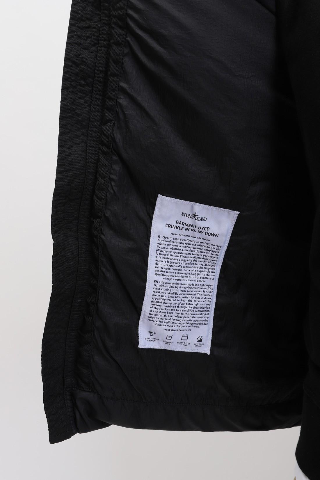 STONE ISLAND / 40123 crinkle reps sleeveless V0029 nero