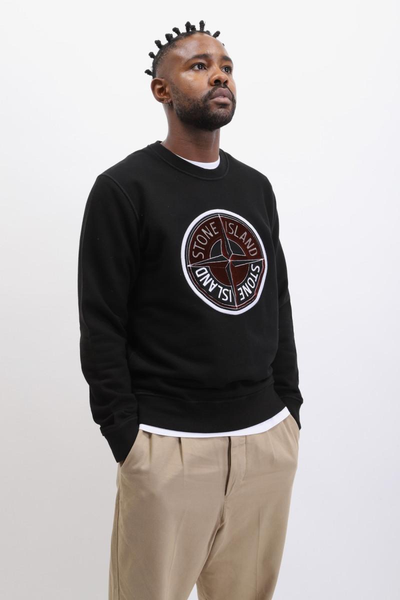 63094 crewneck sweater v0029 Nero