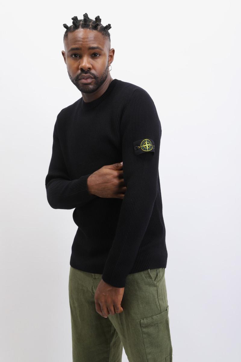 521c2 crewneck knitwear v0029 Nero