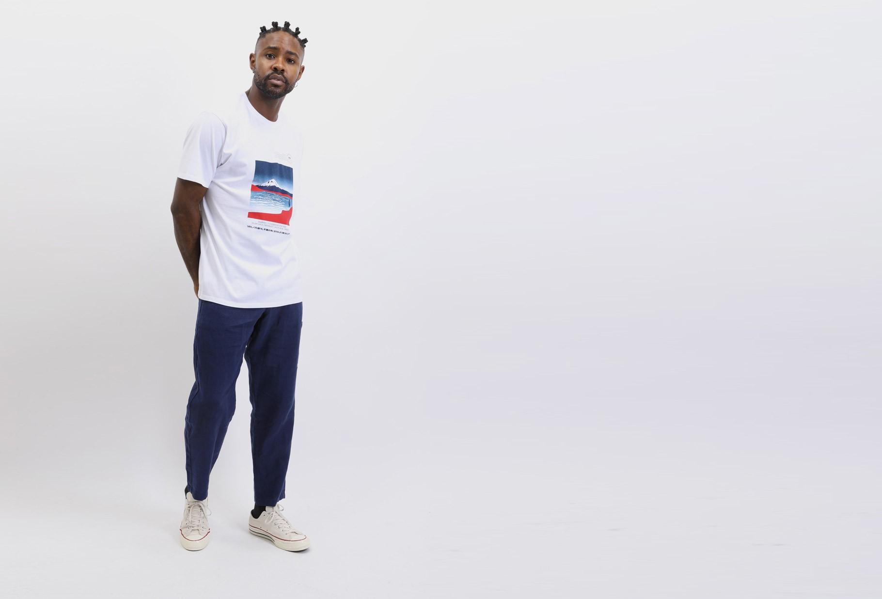 EDWIN / Awoke t-shirt White