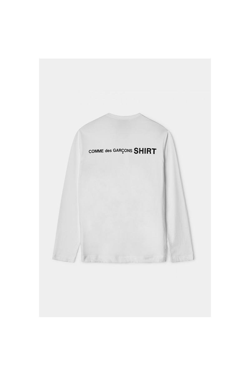 Mens ls t-shirt w28115 White