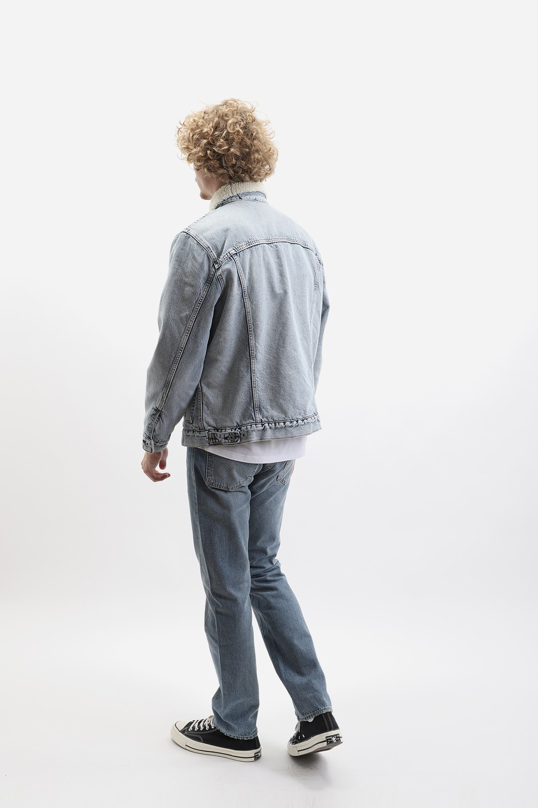 LEVI'S ® MADE AND CRAFTED / Lmc type ii sherpa truck Lmc ice pick