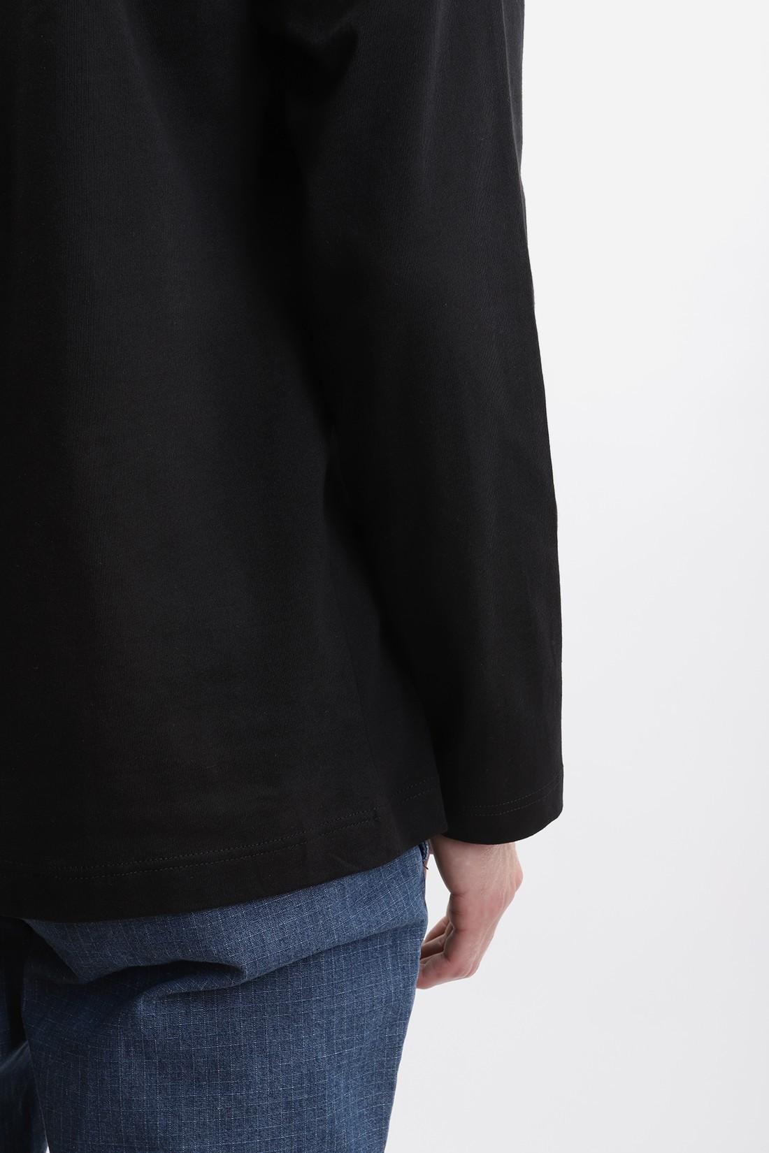 COMME DES GARÇONS SHIRT / Mens ls t-shirt w28115 Black
