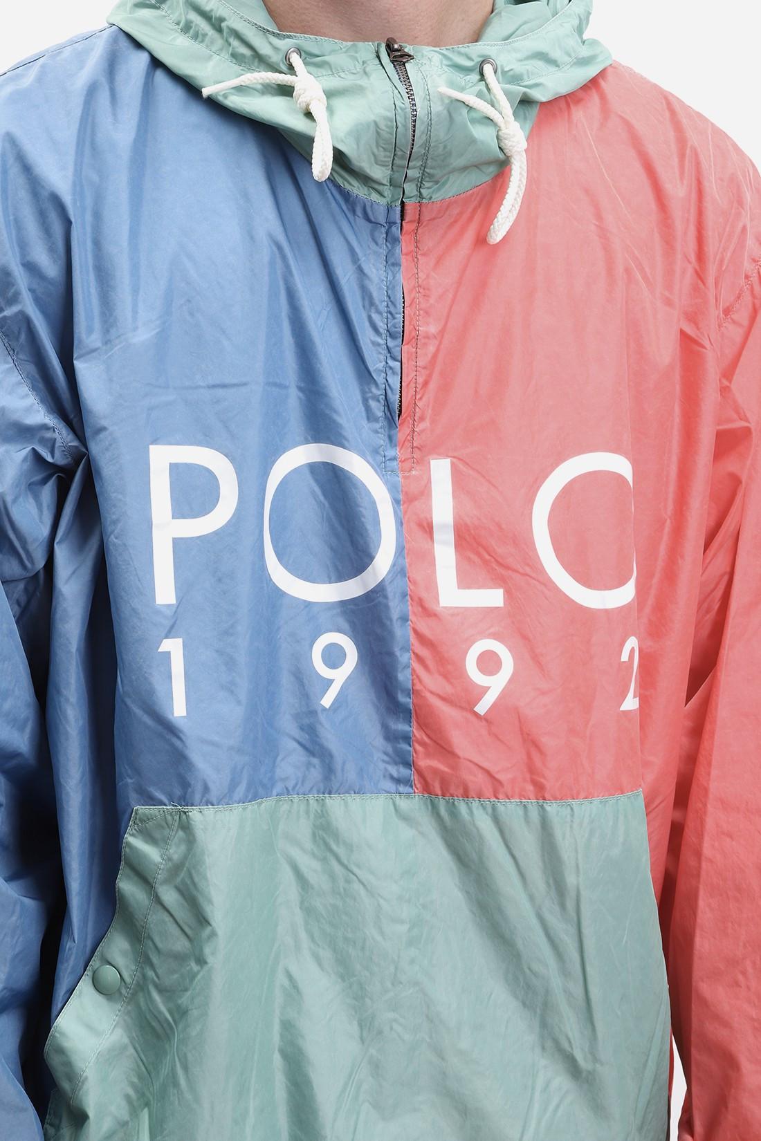 POLO RALPH LAUREN / Hooded popover jkt polo 1992 Multi