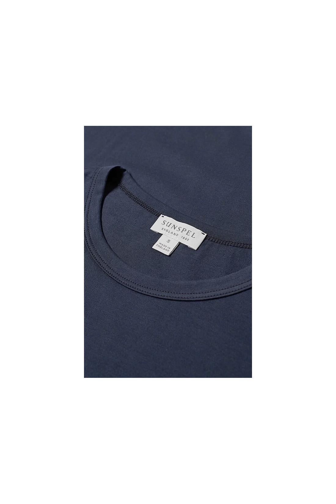 SUNSPEL / Ss classic crew neck t shirt Navy