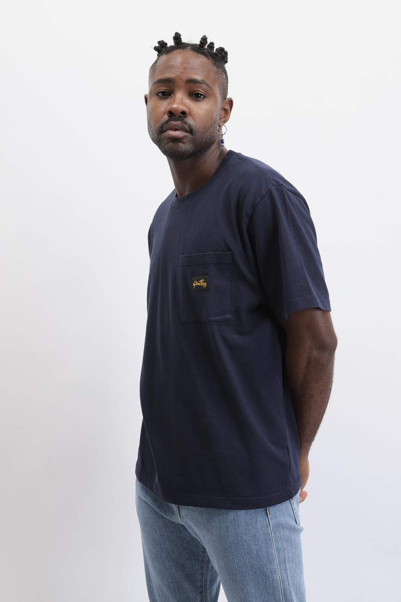 Patch pocket t-shirt Navy
