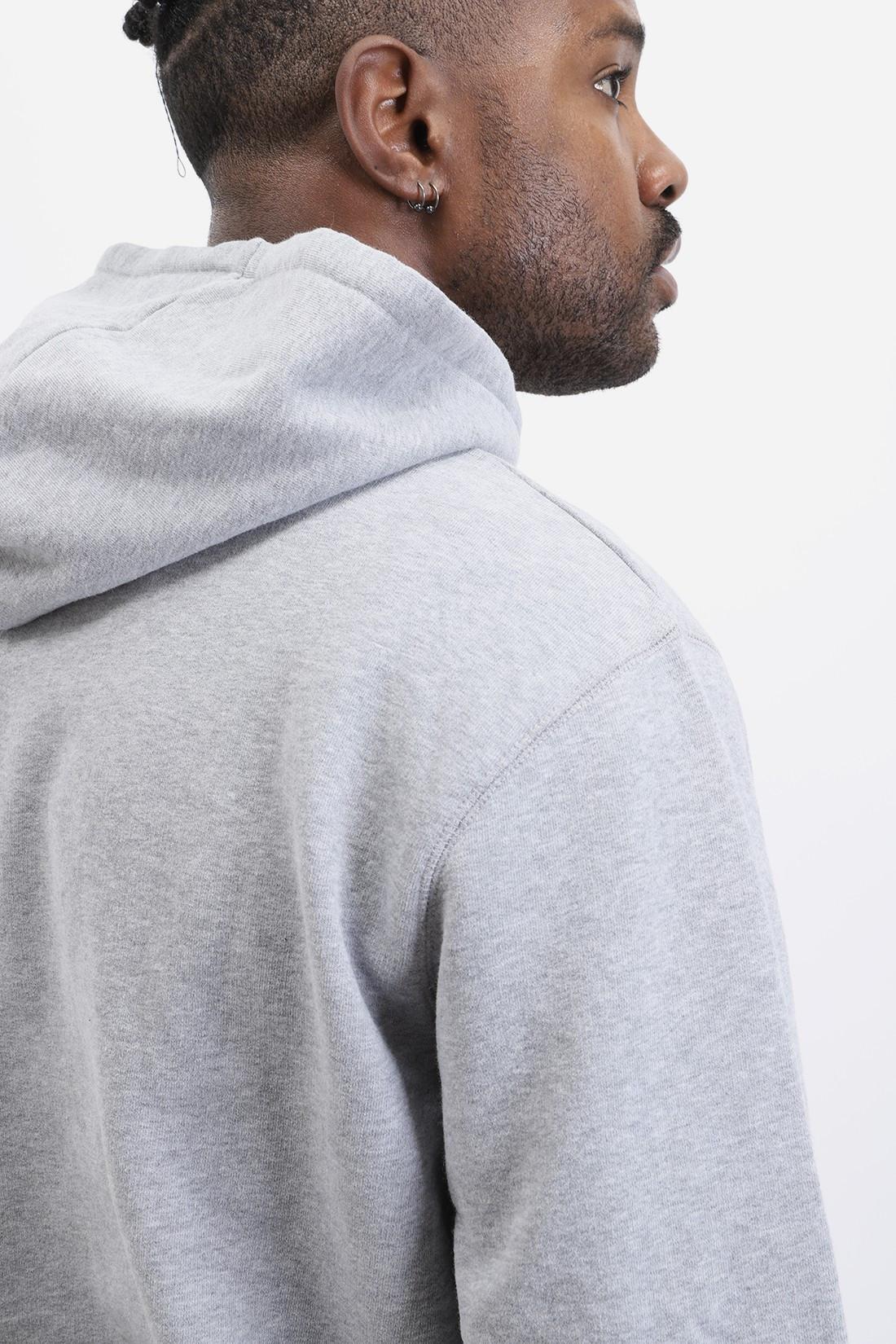 SUNSPEL / Overhead hoody Grey melange