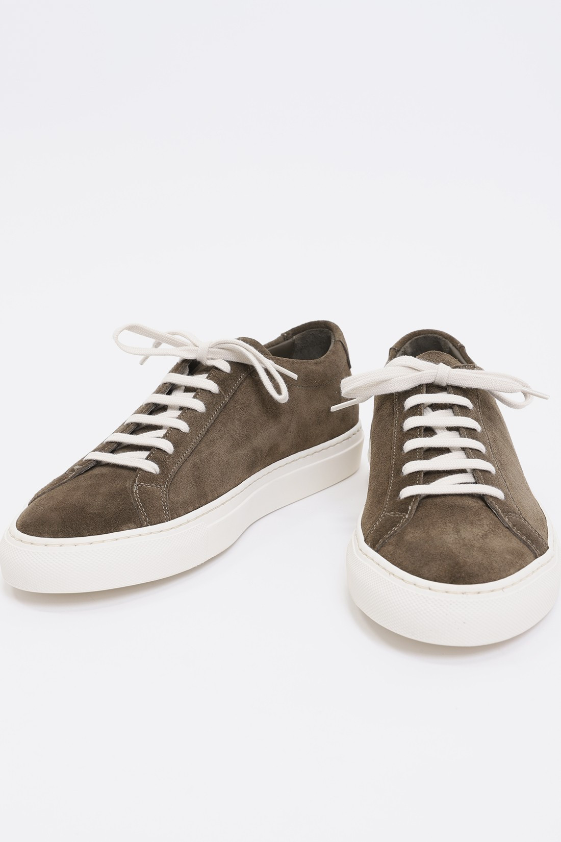 COMMON PROJECTS / Original achilles low in suede Olive 1010