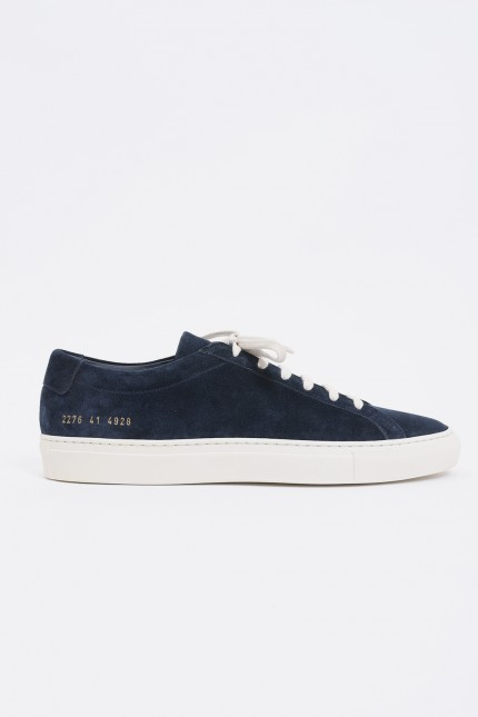 Original achilles low in suede Navy 4928