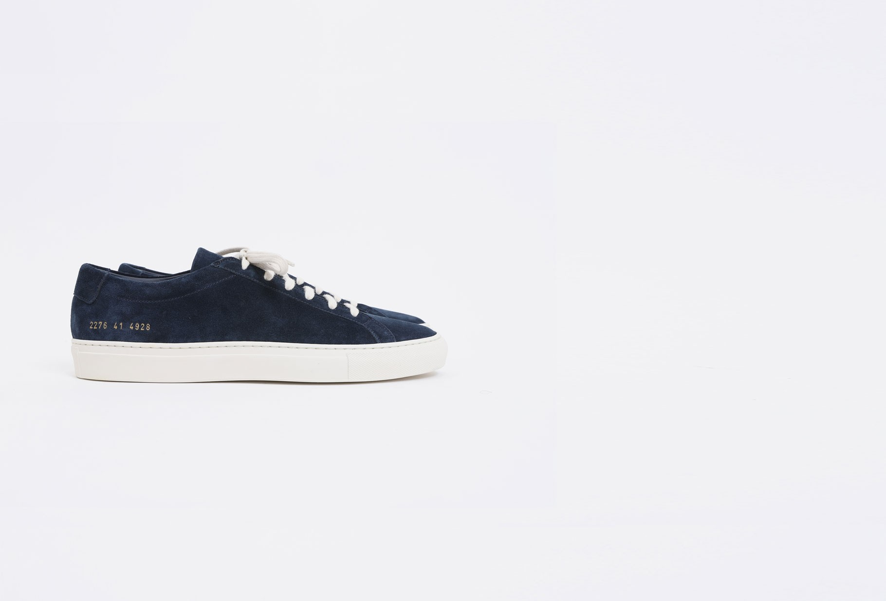 COMMON PROJECTS / Original achilles low in suede Navy 4928