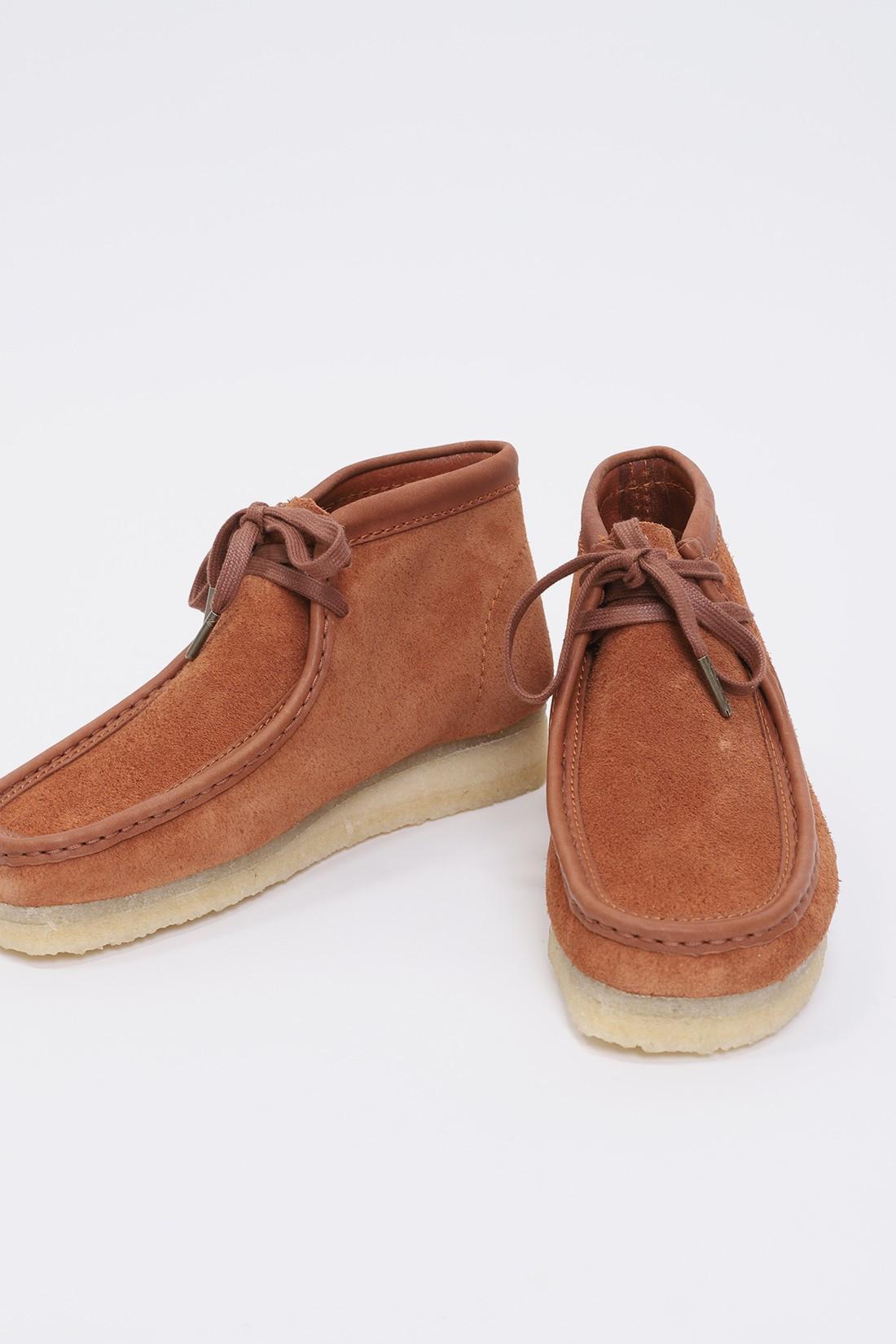 CLARKS ORIGINALS / Wallabee boot Tan hairy suede