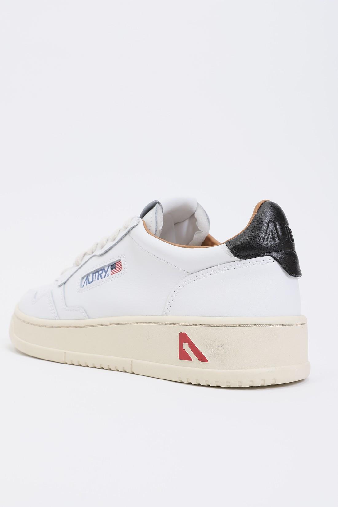 AUTRY / Autry ln05 Leat/leat wht/black