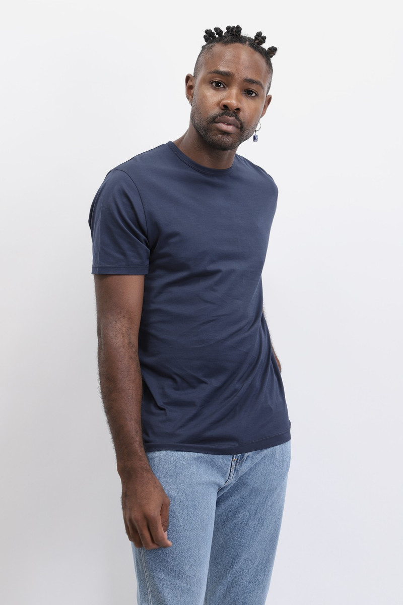 Ss classic crew neck t shirt Navy