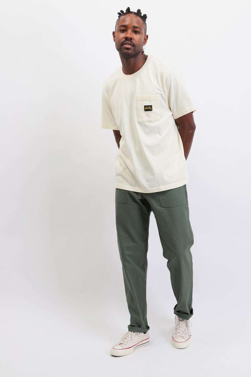 Patch pocket t-shirt Natural