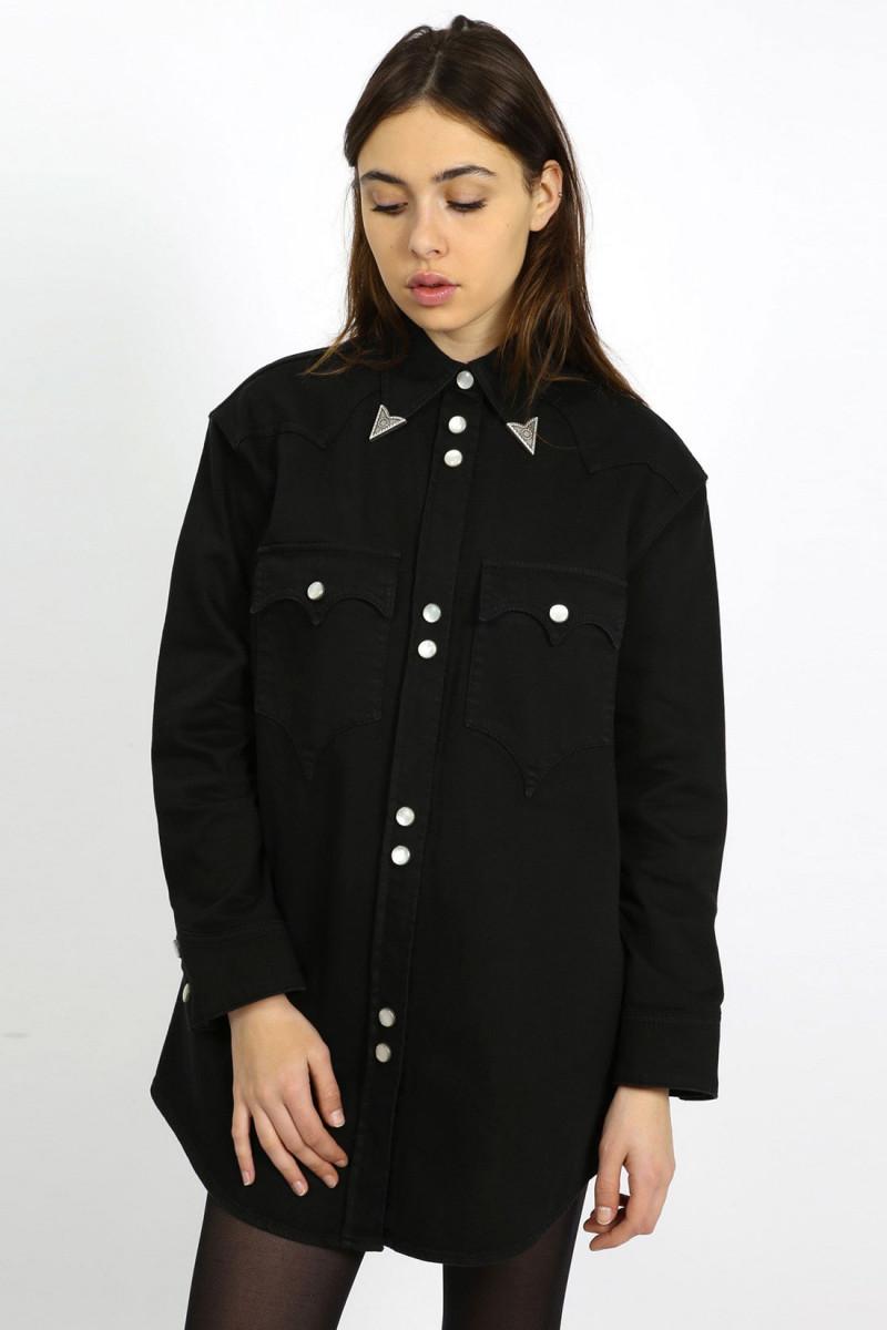 Western dress Black