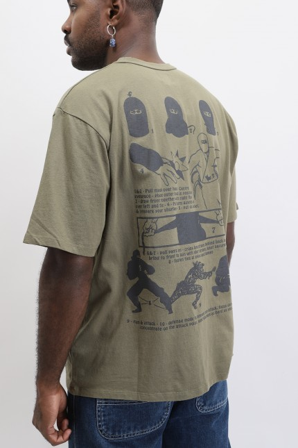 Shinobi t-shirt Martini olive