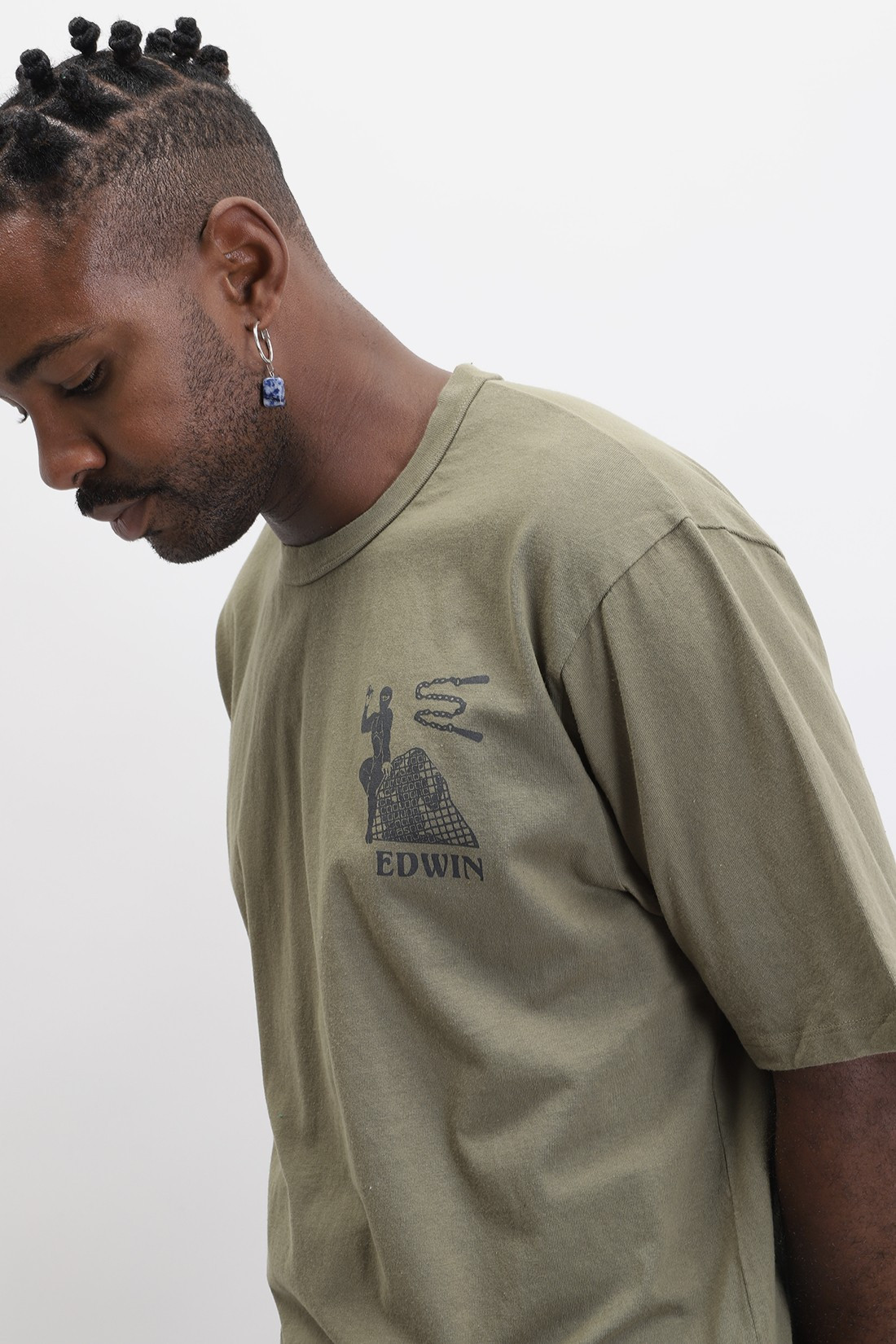EDWIN / Shinobi t-shirt Martini olive