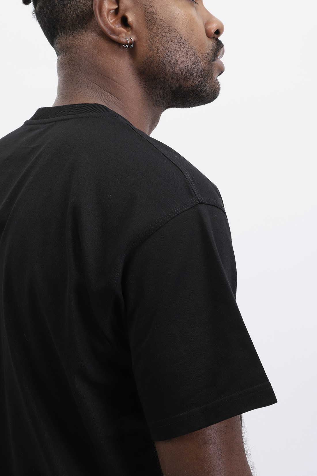 CARHARTT WIP / S/s american script t-shirt Black