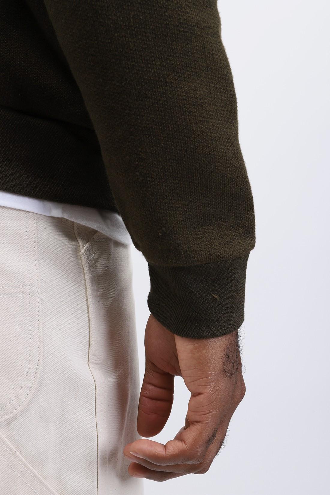 HOMECORE / Terry sweat Dark khaki