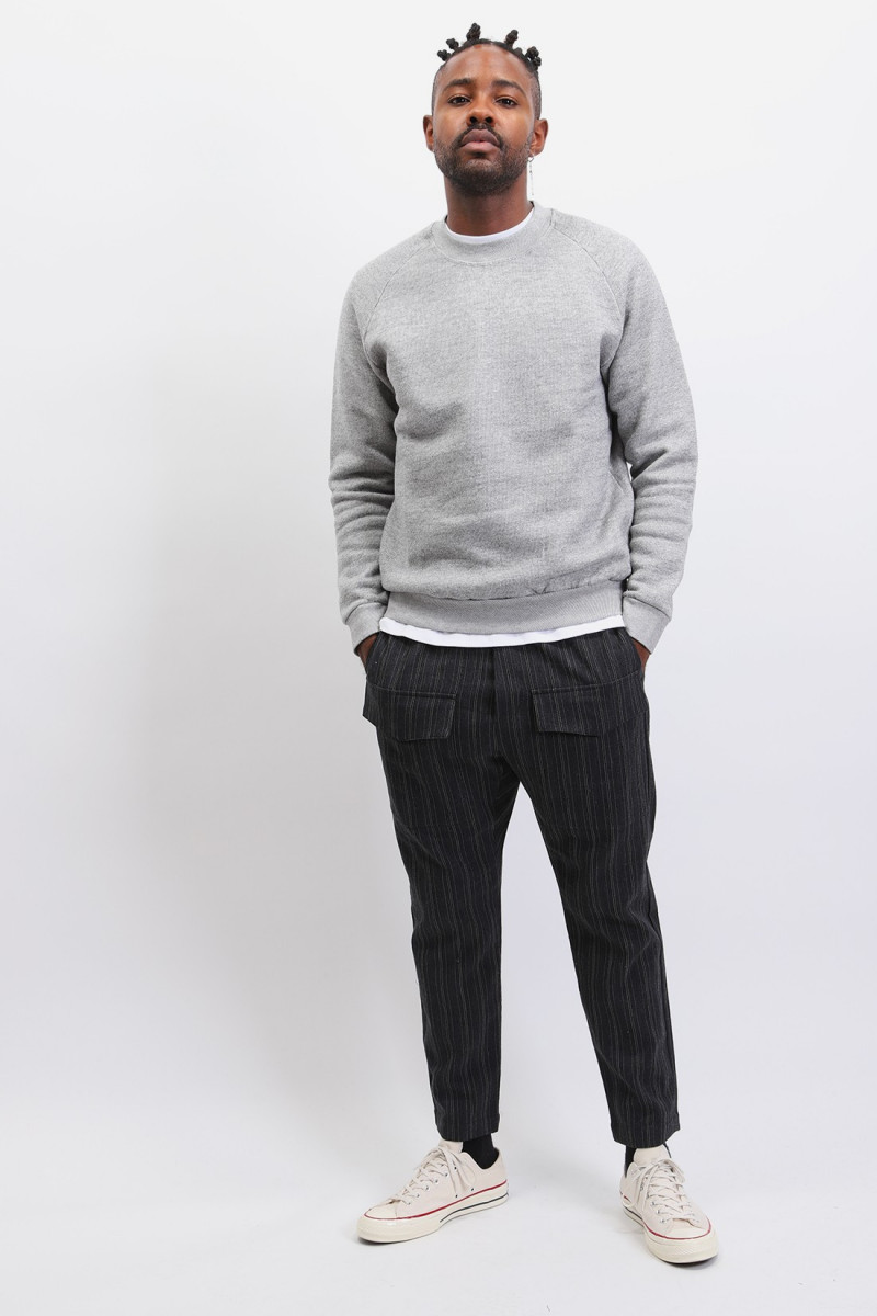 Terry sweat Ash grey