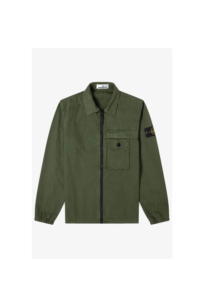 107wn overshirt v0155 Salvia