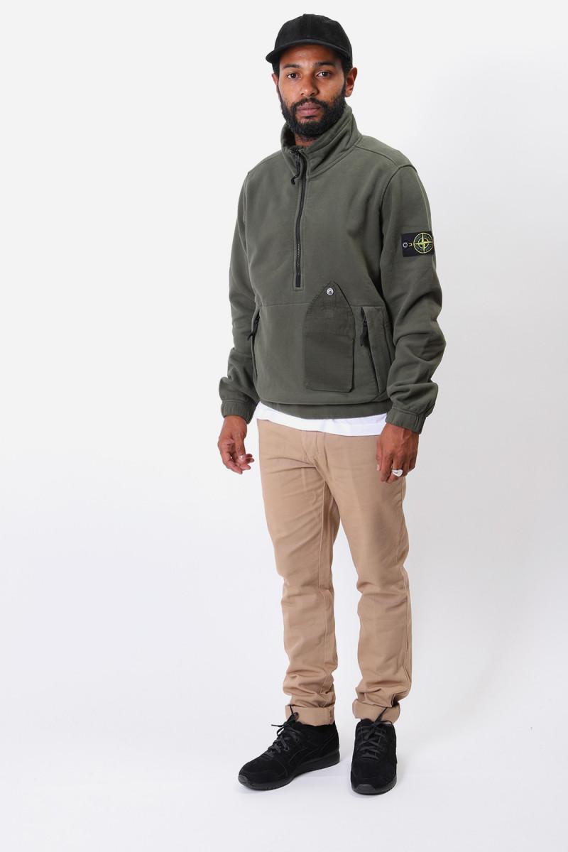 61520 half-zip sweater v0059 Muschio