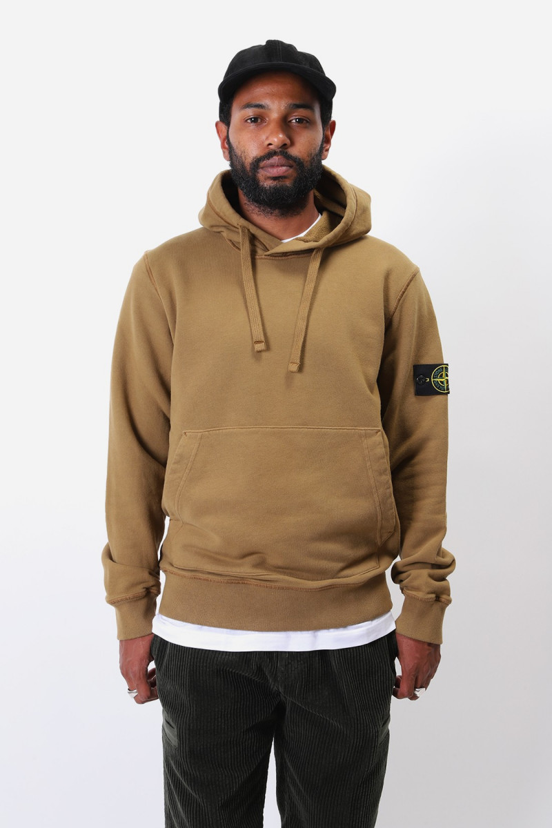 64120 hooded sweater v0071 Tabacco