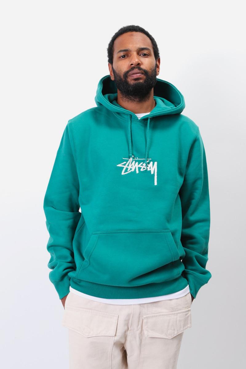 Stock logo app hoodie Dark green