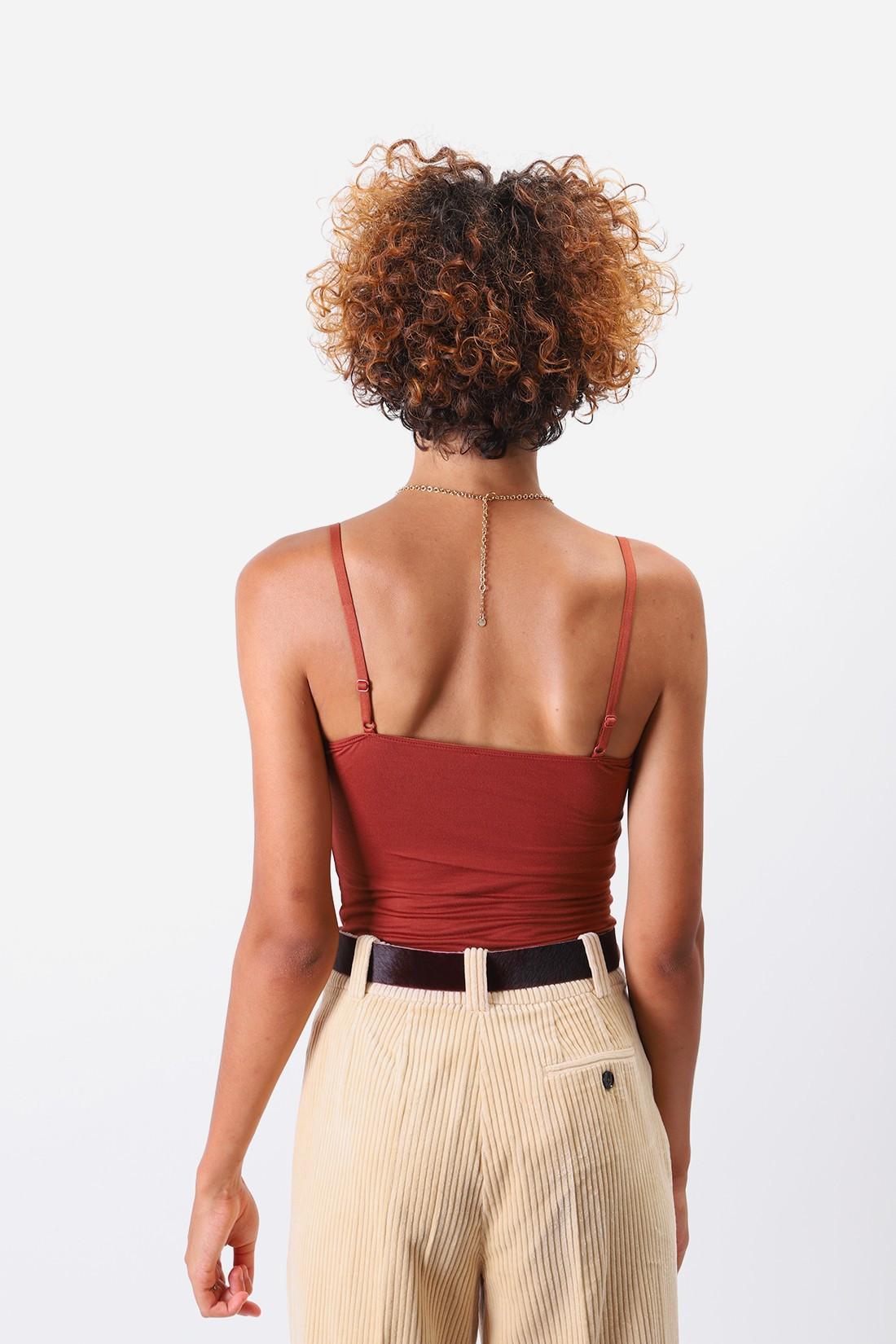 BASERANGE / Body with bra Black