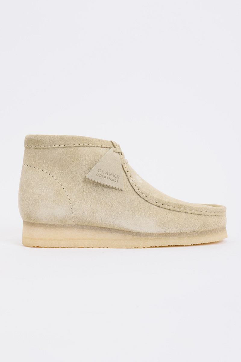 Wallabee boot Maple suede
