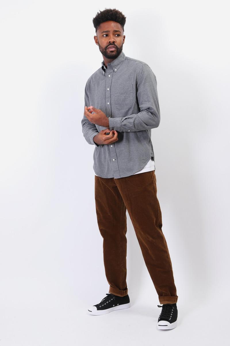 Classic flannel shirt Grey