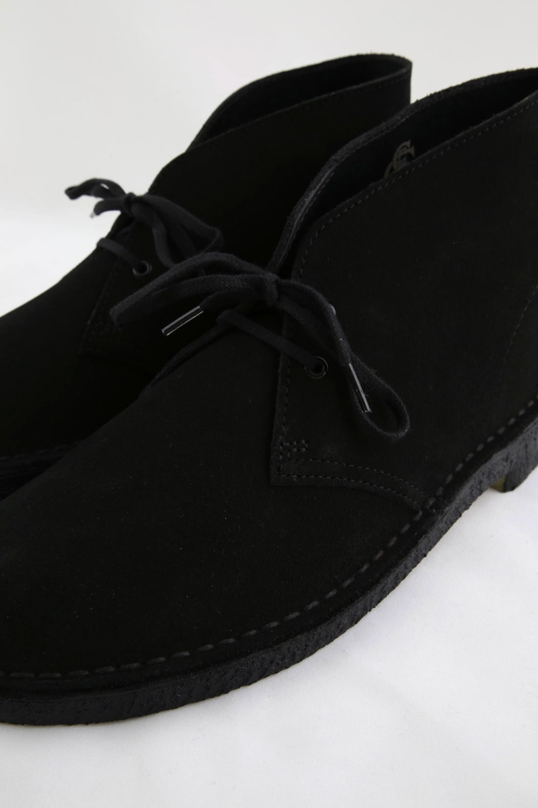 CLARKS ORIGINALS / Desert boot black suede