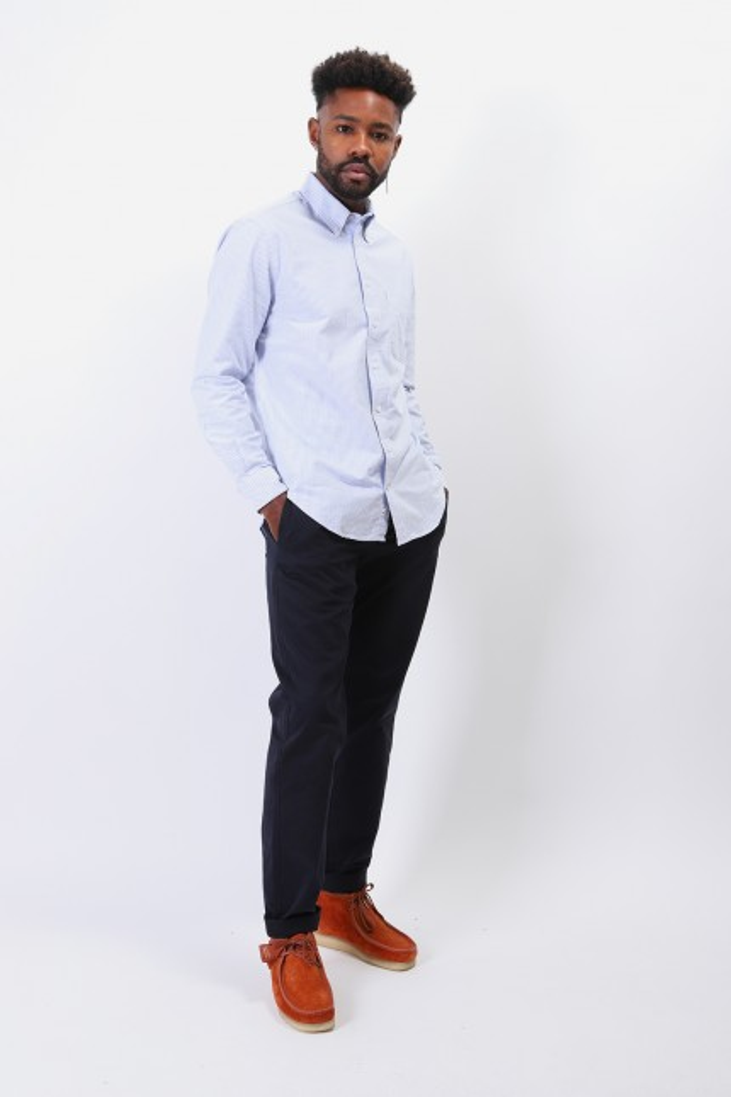 Classic oxford shirt Blue stripe