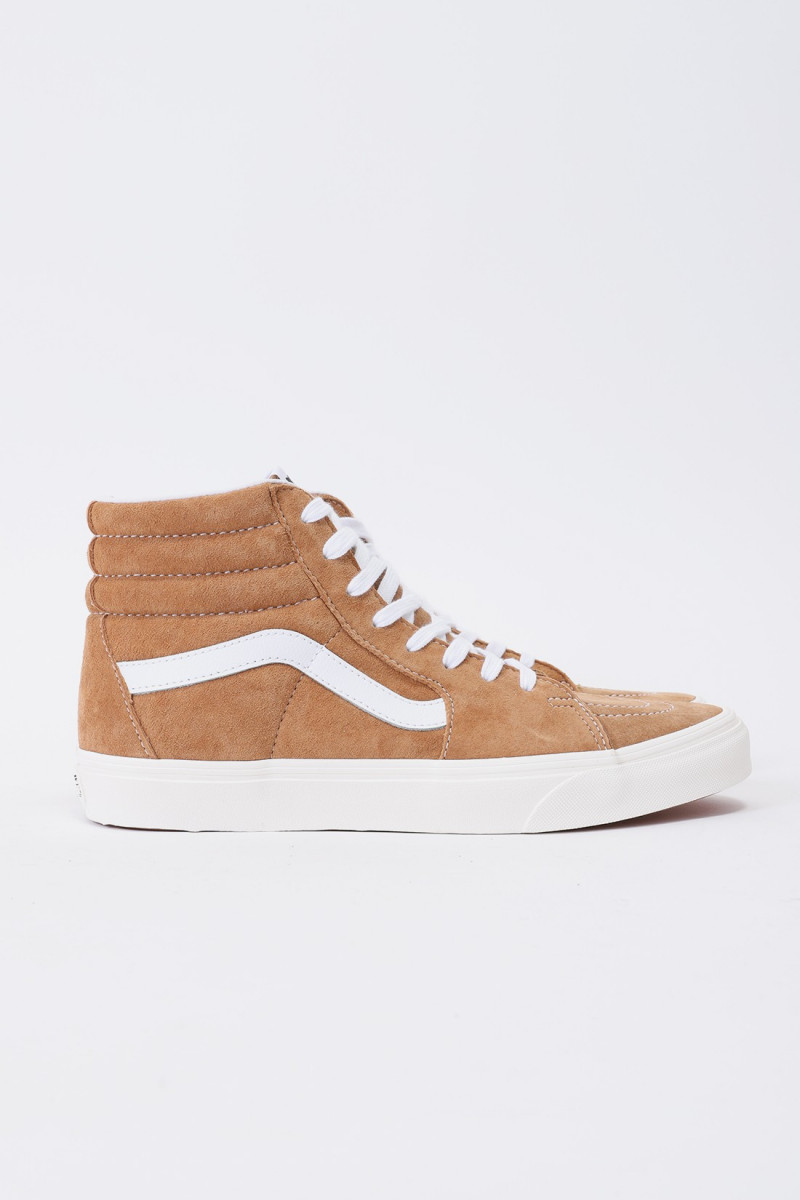 Sk8-hi brown sugar Snow white