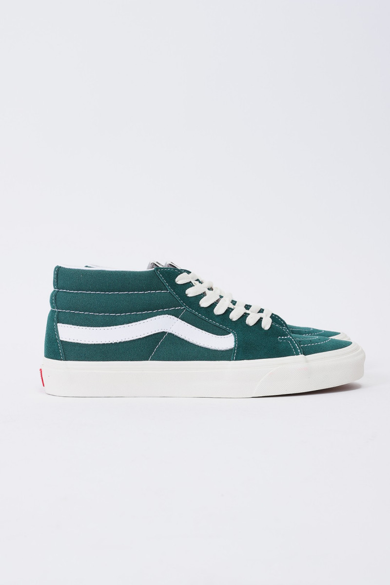 Sk8-mid green Marshmalow