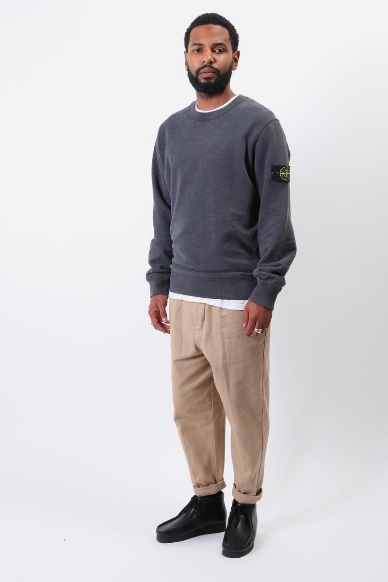 63020 crewneck sweater v0m67 Fumo melange