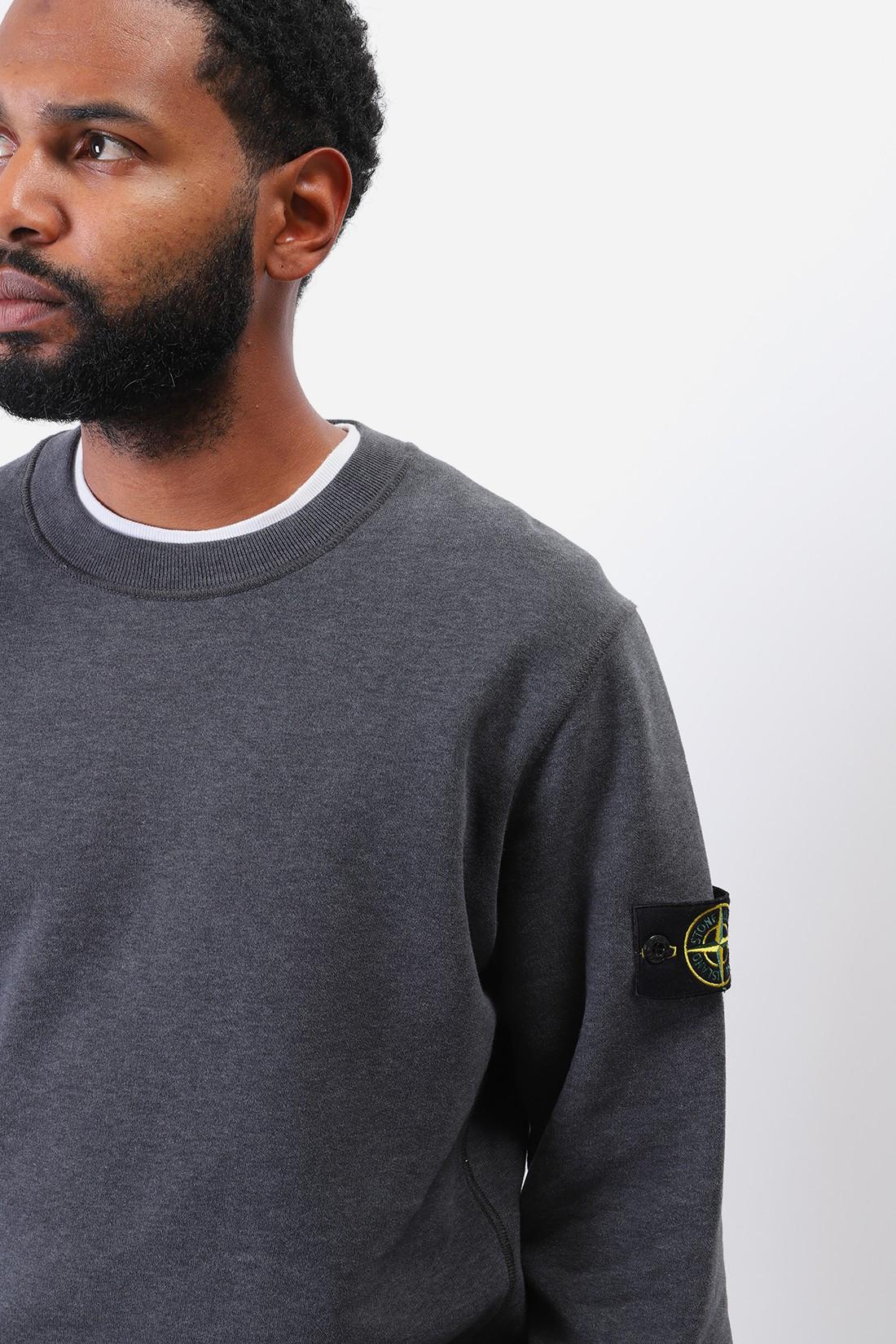 STONE ISLAND / 63020 crewneck sweater v0m67 Fumo melange