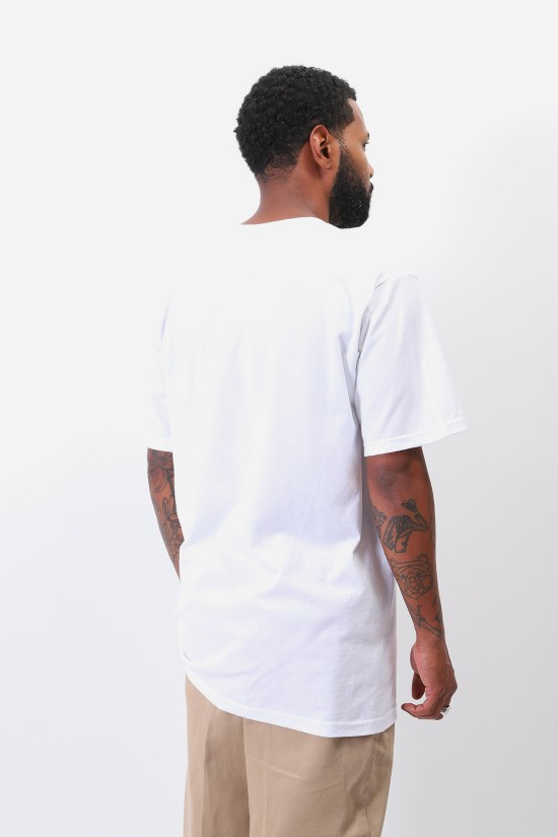 STUSSY / Paintbrush tee White