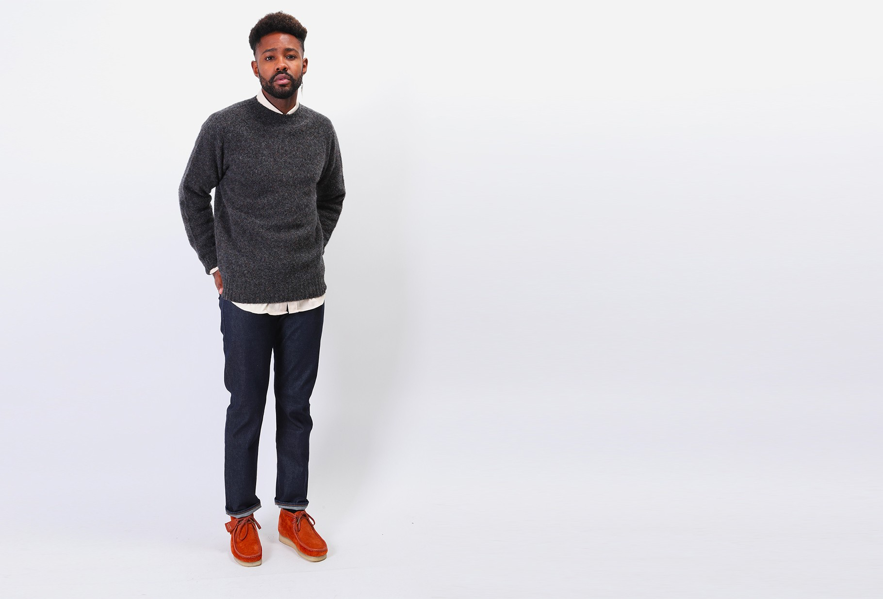 LEVIS MADE CRAFTED / Lmc 502 lmc resin Rinsed