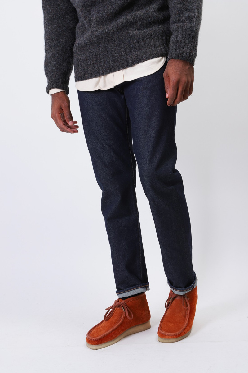 Lmc 502 selvedge stretch denim Rinsed