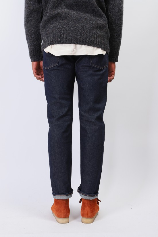 LEVIS MADE CRAFTED / Lmc 502 selvedge stretch denim Rinsed