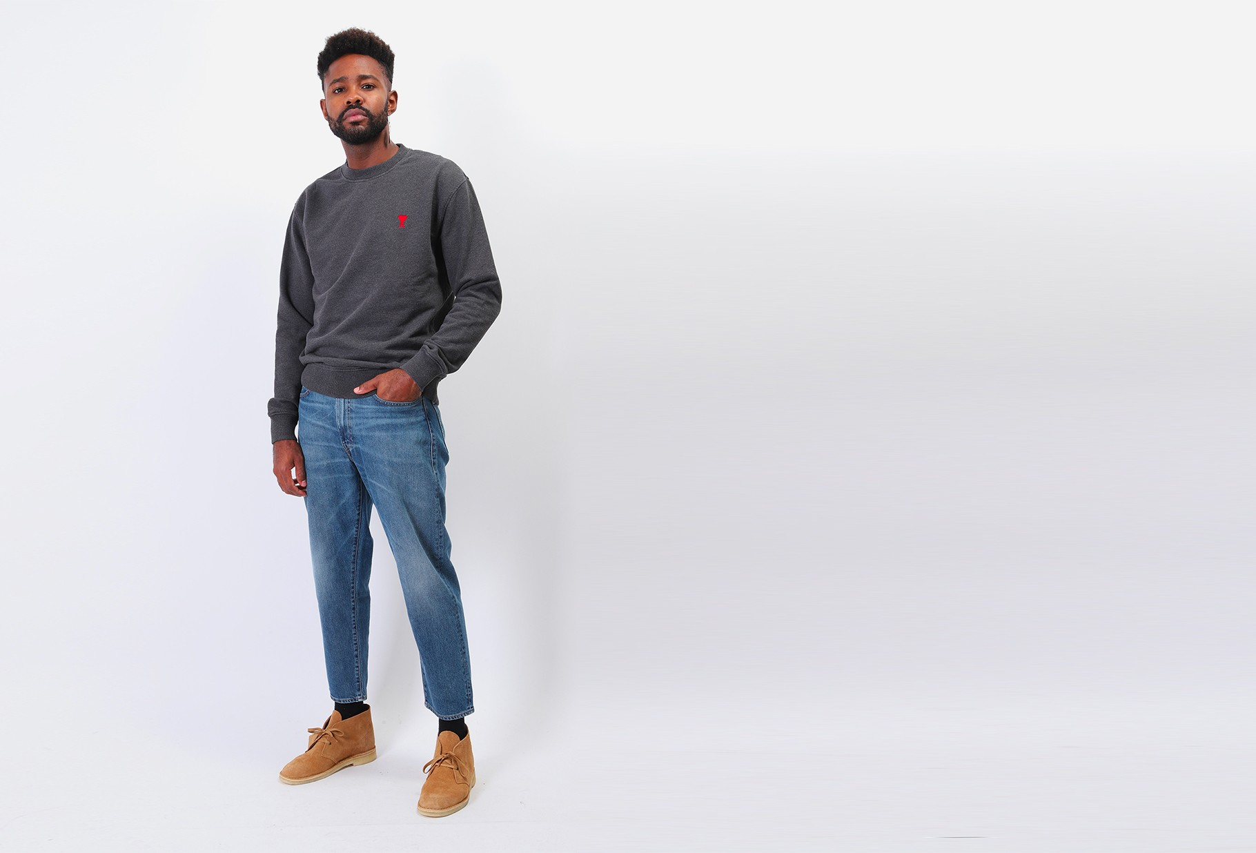 LEVI'S ® MADE AND CRAFTED / Lmc draft taper ™ Nagano moj